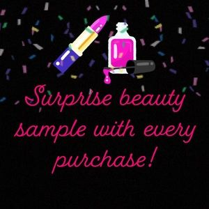 Surprise Item w/ Every Purchase 💕💋💄💅🌷